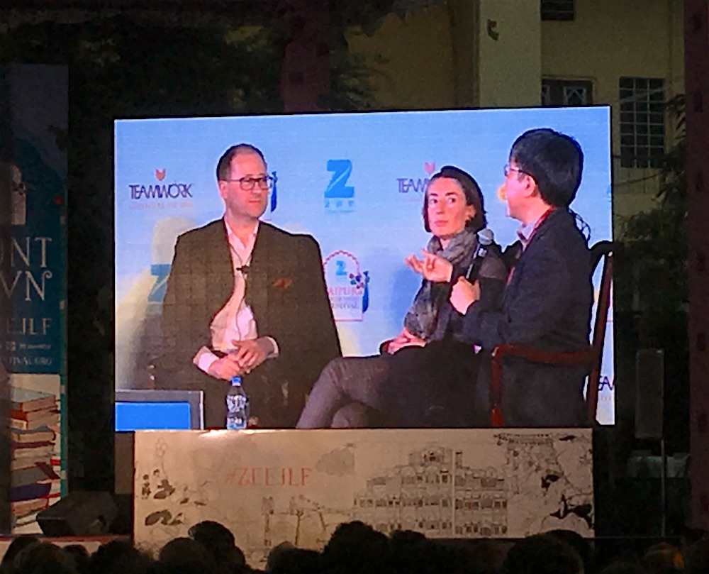 A World of Disruptions Panelist at JLF