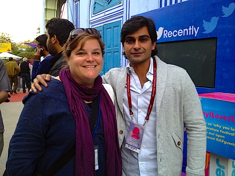 Writer and author Anosh Irani at JLF